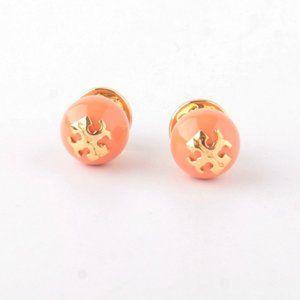 Tory Burch Crystal Pearl Stud Earring